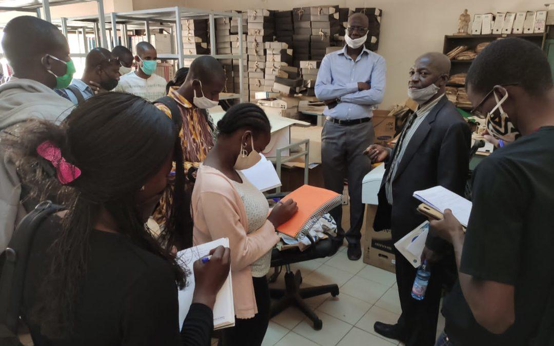 La visite aux Archives Nationales du Mali par les étudiants du Master « Société, Culture et Développement » (SOCDEV)