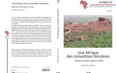 Parution de l'ouvrage «Une Afrique des convoitises foncières»